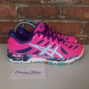 ASICS GEL-VOLLEYCROSS REVOLUTION WOMAN SHOES Sz 7
